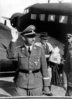 Heinrich Himmler didn't travel without his doctor Felix Kersten