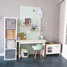 Play Corner, Kids Corner, Girls Bedroom, Bedroom Decor, Kids Bedroom Designs, Kids Study, Cool Rooms, Kid Spaces, Kidsroom