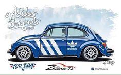 Arte Hippy, Cool Car Drawings, Commercial Signs, Beetle Car, Mercedes Benz Logo, Car Illustration, Volkswagen Logo, Vw Beetles, Art Cars