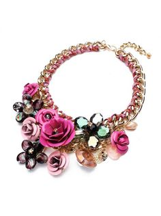 Náhrdelník Rose růžový
