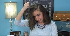 Diese blitzschnelle Frisur sieht bei JEDER Haarlänge bezaubernd aus.