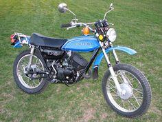1972 Kawasaki 175 Dirt Bike. I had a blast on this bike. | Cars and