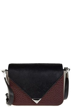 Alexander Wang 'Prisma' Calf Hair & Leather Shoulder Bag available at #Nordstrom