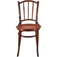 Vintage Michael Thonet Style Bentwood Chair | 1stdibs.com