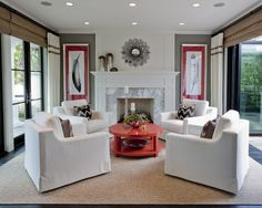 Traditional Living Room Fireplace Mantel Design, Pictures, Remodel, Decor and Ideas - page 43
