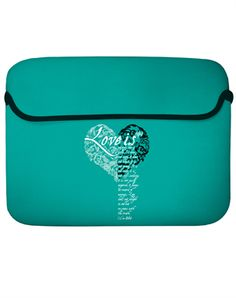 Love Is Laptop Sleeve - Christian Laptopsleeves for $19.99 | C28.com