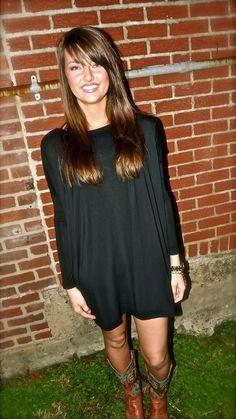 Black Piko Tunic/Dress