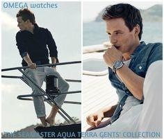 "bespokeredmayne: ""More from the ""aqua"" portion of the new Omega watch Aqua Terra campaign featuring brand ambassador Eddie Redmayne. "" BABE"