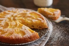 Gâteau renversé au yaourt et pommes