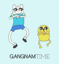 What time is it!? Gangnam Time!