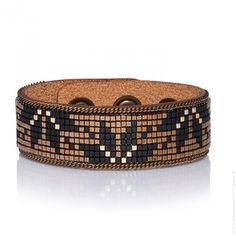 Bracelet Yuma cuir Hypnotik gold