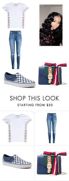 """""""Untitled #438"""" by askariwilson on Polyvore featuring Givenchy, H&M, Vans and Gucci"""