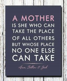 moeders plek