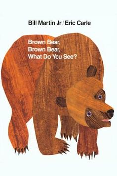 Summary:Brown Bear, Brown Bear, What Do You See? is a children's picture book published in Written and illustrated by Bill Martin, Jr. and Eric Carle, the book is designed to help toddlers associate colors and meanings to objects. Eric Carle, Book Activities, Preschool Activities, Preschool Books, Preschool Prep, Nursery Activities, Preschool Curriculum, Preschool Printables, Preschool Lessons