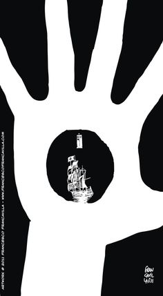 Artist Francesco Francavilla creates black and white posters for each episode of the latest season of Doctor Who.