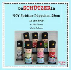 Stickdatei für ein TOY Soldier Püppchen  http://de.dawanda.com/product/54823907-Stickdatei-18-x-30-beSCHUeTZERle-Pueppchen-itH