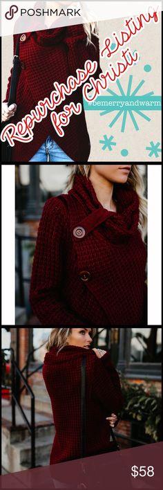 Repurchase for Christi Repurchase for Christi Boutique Sweaters