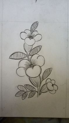 17 sites with fun and free hand embroidery patterns – Artofit Hand Embroidery Flowers, Hand Embroidery Tutorial, Embroidery Patterns Free, Hand Embroidery Designs, Embroidery Art, Embroidery Stitches, Easy Flower Drawings, Art Drawings Sketches Simple, Pencil Art Drawings