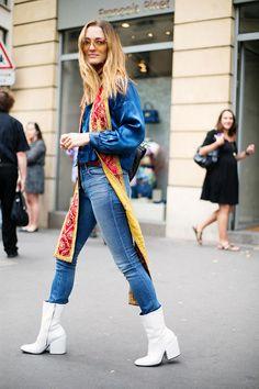Street Style en París Alta Costura, julio 2015 © Josefina Andrés