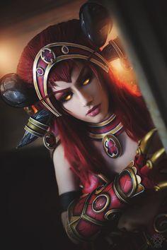 World of Warcraft - Alexstrasza by Narga-Lifestream.deviantart.com on @DeviantArt