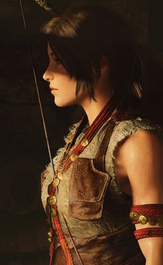Chronicles Tomb raider, Croft, Guerre