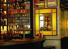 Schiller´s Liquor Bar. A great old style bar, with industrial fittings in NYC, plus serves an amazing brunch!
