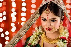 Indian Wedding Bride, Bengali Wedding, Bengali Bride, Punjabi Bride, Wedding Girl, Wedding Prep, Wedding Events, Dream Wedding, Bengali Bridal Makeup