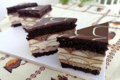 Kávový zákusok, recept, Zákusky   Tortyodmamy.sk Sweet Desserts, Dessert Recipes, Coffee Cake, No Bake Cake, Baked Goods, Tiramisu, Cheesecake, Food And Drink, Cupcake