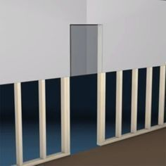 Save money on your remodel by installing your own drywall. Our video covers the basics of hanging drywall on studs. Home Improvement Projects, Home Projects, Hanging Drywall, How To Hang Sheetrock, Steel Framing, Up House, Home Repairs, Basement Remodeling, New Wall