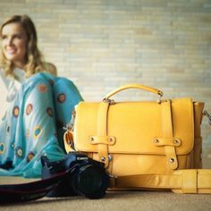 Look seriously snappy with Lei Momi camera bags