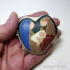 Pocket rock nativity by CindyThomas