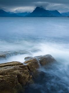 View from Elgol Beach on the Isle of Skye ~ Scotland