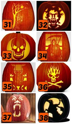 15 Scary Pumpkin Carving Stencils                                                                                                                                                                                 More