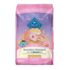 Blue Buffalo Sensitive Stomach Adult Cat Food - Specially formulated to help support digestive health, while providing the important nutritional benefits. High quality protein is the first ingredient. Wholesome whole grains and healthy garden veggies. - https://www.petco.com/shop/en/petcostore/product/blue-buffalo-sensitive-stomach-adult-cat-food