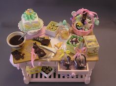 Happy Easter table made by Mary Broaddus