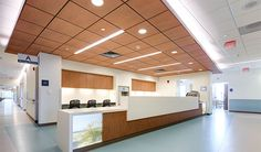 Storr Office Environments provided the UNC Hillsborough Hospital with new commercial office, healthcare, and hospital furniture. Medical Office Design, Healthcare Design, Furniture Projects, Furniture Design, Office Furniture, Unc Hospital, Hospital Reception, Nurses Station, Hospital Design