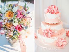 blush pinks, peach, berries and dusty miller  //  los gatos weddings  //  k.holly