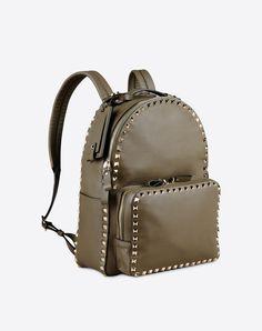 Valentino Online Boutique - Valentino Women Rockstud Medium Backpack
