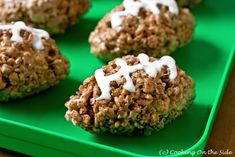 Football Rice Krispie Treats :)
