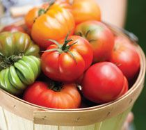 Recipe: Heirloom Tomato Soup with Fresh Cream | PCC Natural Markets