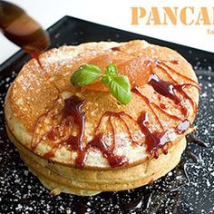 Pancakes Yummy Recipes, Yummy Food, Pancakes, Breakfast, Breakfast Cafe, Tasty Food Recipes, Delicious Food, Pancake, Crepes