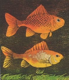 'Two Fishes' by Frans Wesselman (J015)