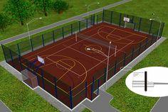 Открытая спортивная площадка