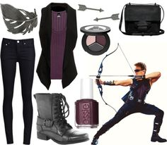 """Hawkeye"" by caitosaur on Polyvore - Avengers"