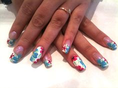 Nails  www.finditforweddings.com nail art