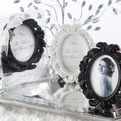 Great for each place setting or to hold labels for the dessert/drinks table.
