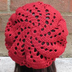 Ravelry: Sylvia Spiral Beret pattern by Justine Walley