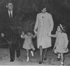 This is one of the last family photographs that was taken on Nov 13, 1963 at the White House.