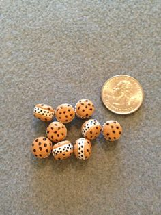 Double Doozy Cookie Beads by BeadingBeeCreations on Etsy, $6.99