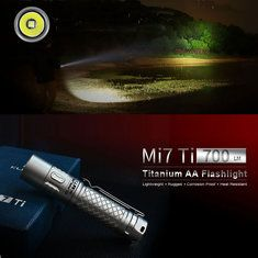 Only US$64.95, buy best Klarus Mi7 Ti XP-L HI V3 700LM AA EDC LED Flashlight sale online store at wholesale price.US/EU warehouse.